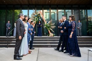 Family-Focused Ceremony Processional at South Congress Hotel in Austin, Texas