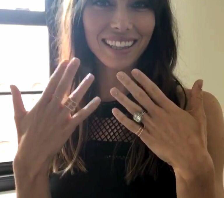 Jessica Biel's Engagement Ring