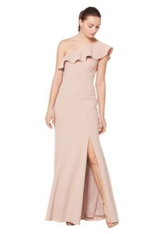 Bill Levkoff 1620 One Shoulder Bridesmaid Dress