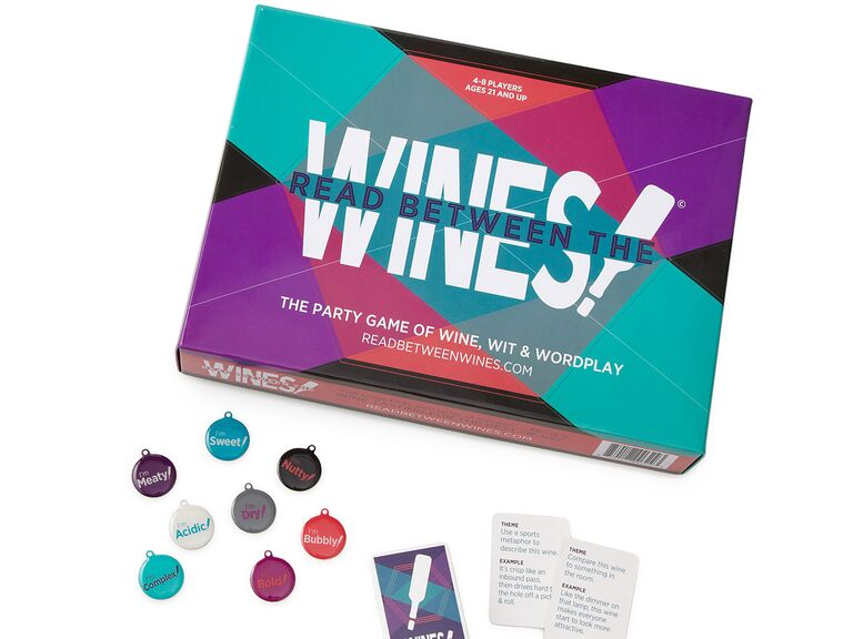 Read Between the Wines board games