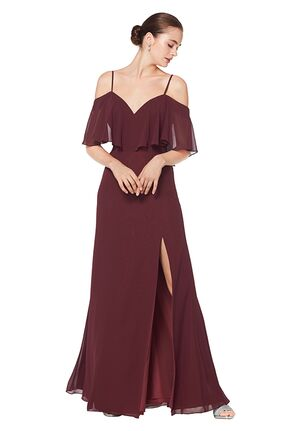 Bill Levkoff 1606 Off the Shoulder Bridesmaid Dress