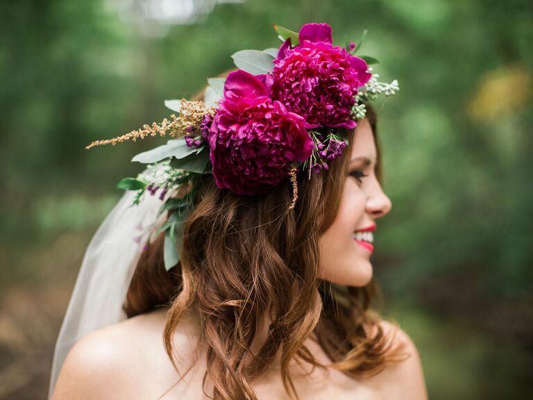 Oversize Bohemian Bridal Crown - bridal crowns