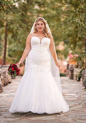 Essense of Australia D2673+ Wedding Dress