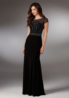 MGNY 71515 Black Mother Of The Bride Dress