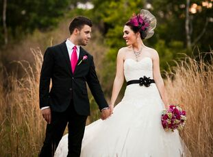 The Bride Scarlett Lillian Williams, 30, a wedding photographer The Groom Stephen Knuth, 23, also a wedding photographer The Date April 16  Scarlett w