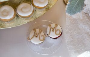 Monogrammed Cupcakes and Cookies