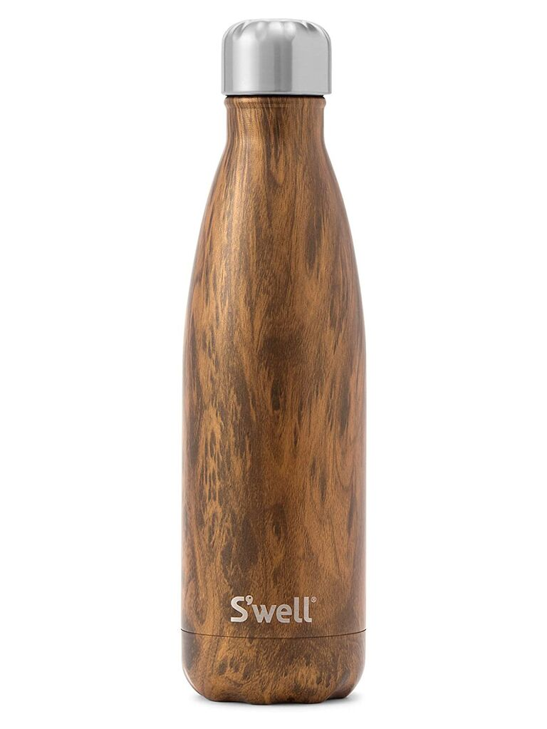S'well wood water bottles 5 year anniversary gift idea