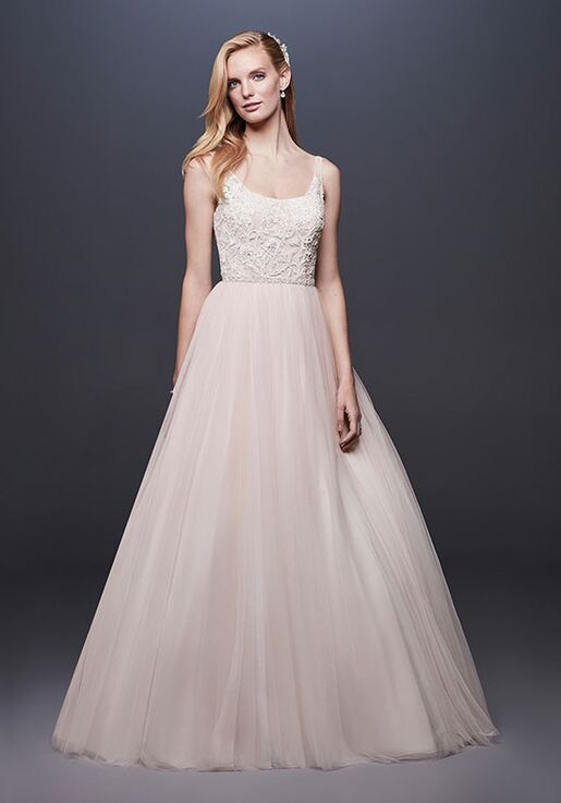 David's Bridal David's Bridal Style WG3905 Ball Gown Wedding Dress
