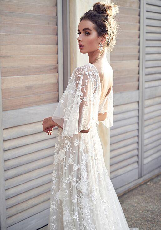 0085a0cc56 Anna Campbell Amelie (Draped Sleeves) Dress Wedding Dress   The Knot