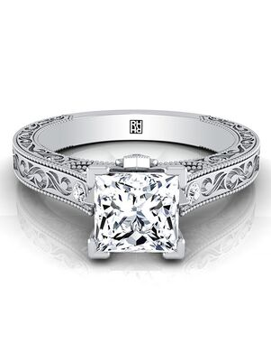 Princess Cut Engagement Rings | The Knot