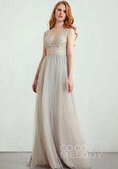 CocoMelody Bridesmaid Dresses RB0292 V-Neck Bridesmaid Dress