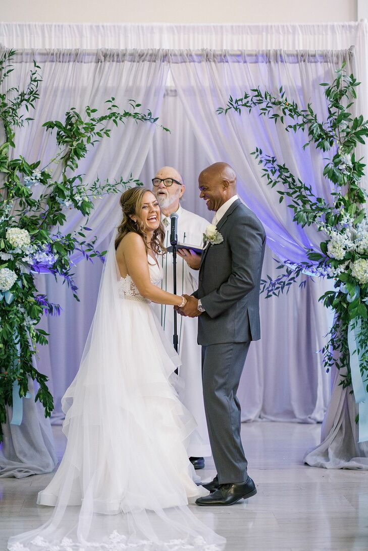 Wedding Ceremony at The Vault in Tampa, Florida