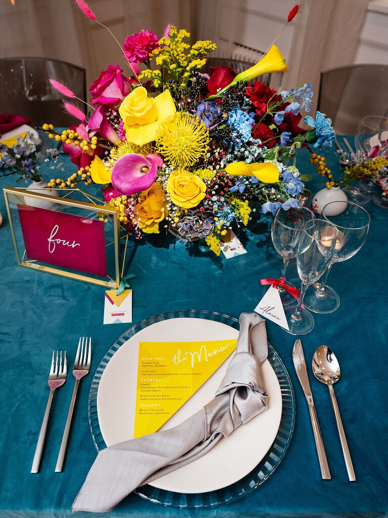 tablescape at Admire & Be Inspired party