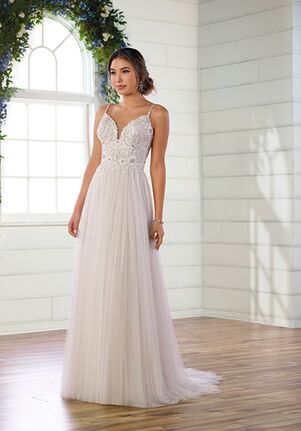 Essense of Australia D2787 A-Line Wedding Dress