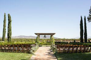Elegant Vineyard Ceremony