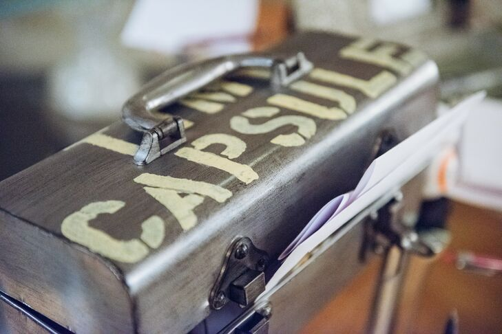 Time Capsule Wedding Guest Book
