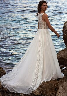 Lillian West 66109 A-Line Wedding Dress