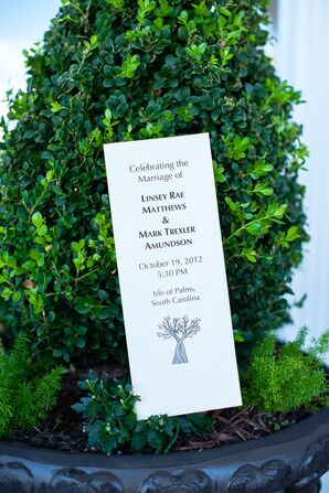 Linsey and Mark's Simple Tree Ceremony Program