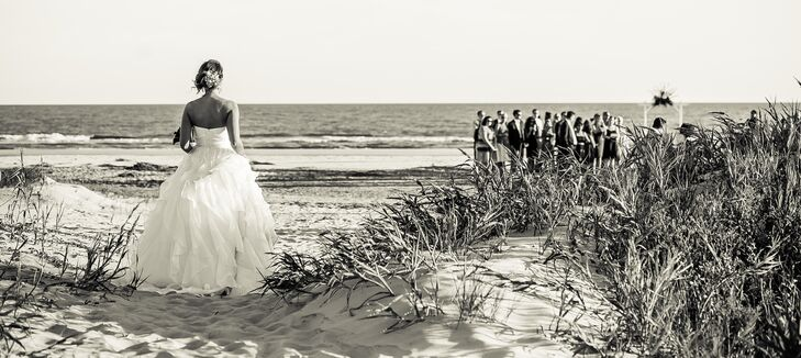 Beachside J.Crew Wedding Dress