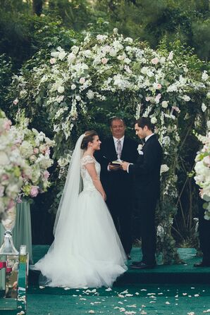Garden Getaway Backyard Ceremony Vows