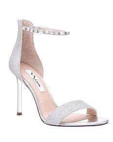 Nina Bridal Deena_Silver Dreamland Black, Champagne Shoe