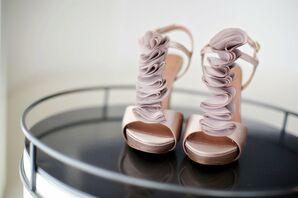 Blush Colored Bridal Shoes