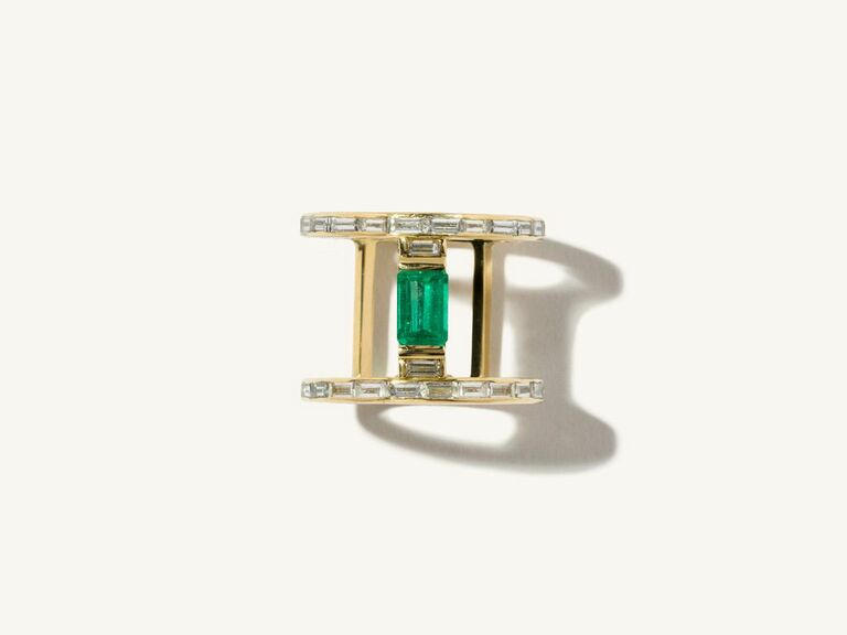 non-diamond engagement ring