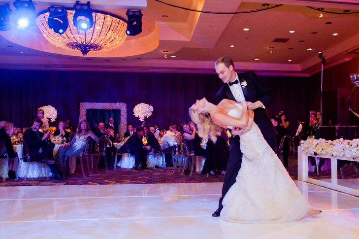 First Dance at Four Seasons Hotel Austin