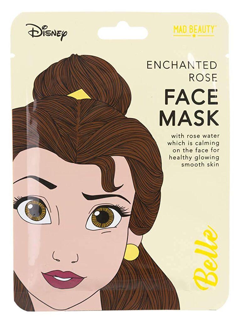 Disney princess Belle sheet mask for bachelorette party