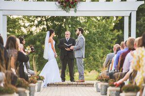 Trumpet-Style Mori Lee Wedding Dress With Corset