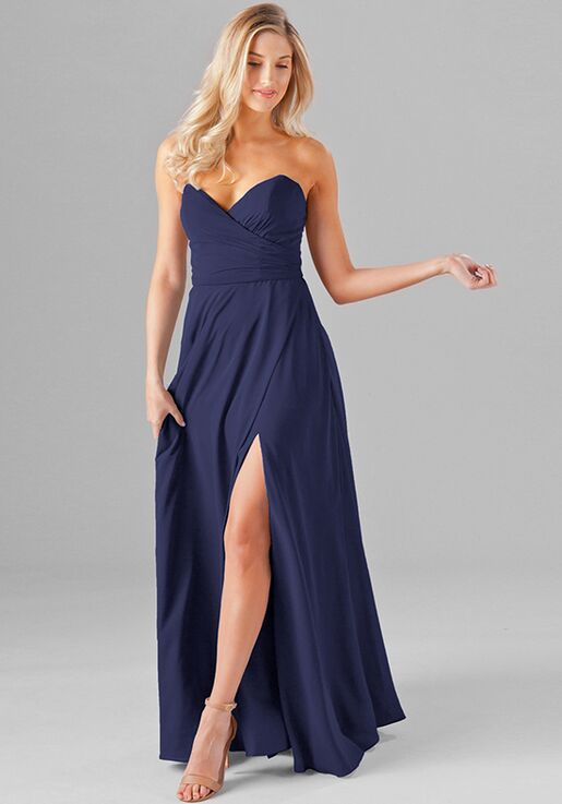 aa437cbc165 Kennedy Blue Poppy Bridesmaid Dress - The Knot