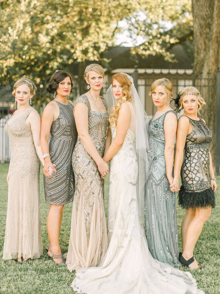 Can Your Bridesmaids Wear Different Dresses Here S How To Pull It Off