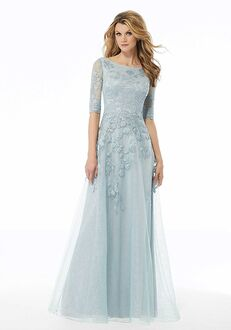 MGNY 72122 Blue Mother Of The Bride Dress