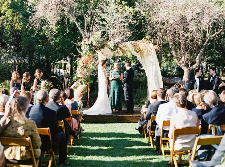 Outdoor Wedding Ceremony in Marathon, Texas
