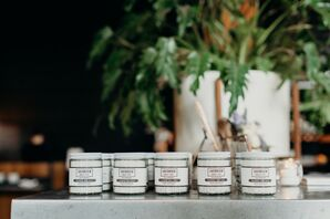Jarred Sea Salt Wedding Favors