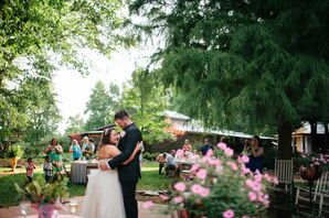 Romantic Wedding Reception at DeStarte Bed and Breakfast