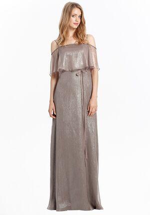 Monique Lhuillier Bridesmaids 450477 Off the Shoulder Bridesmaid Dress