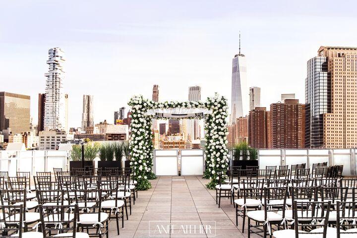 Tribeca Rooftop Reception Venues New York Ny