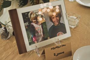 Personal Picture Centerpieces
