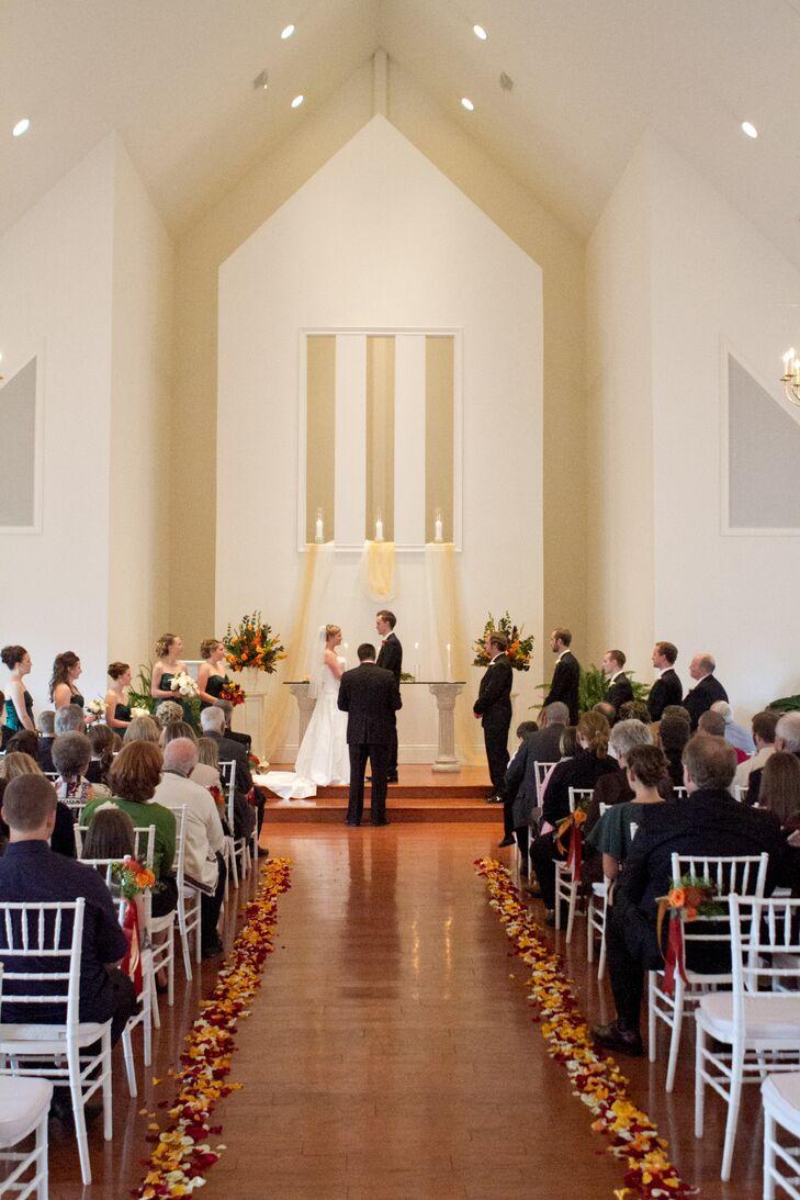 Bride and Groom Chapel Vows