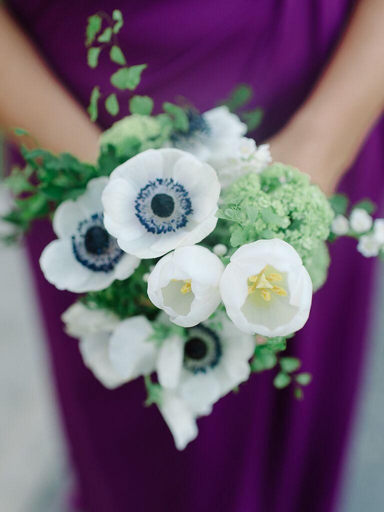 15 tulip bouquet ideas tulip and anemone wedding bouquet ideas izmirmasajfo