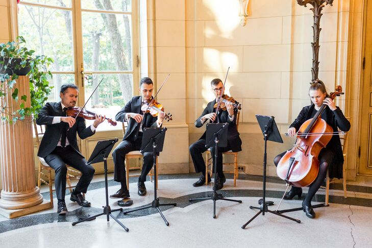 String Quartet at The Meridian House in Washington, D.C.