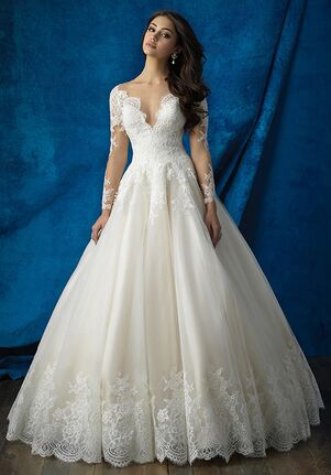Allure Bridals 9366 Ball Gown Wedding Dress