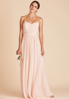 Birdy Grey Chicky Convertible Dress in Pale Blush Sweetheart Bridesmaid Dress