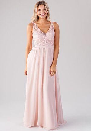 Kennedy Blue Betsy V-Neck Bridesmaid Dress
