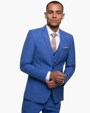 Generation Tux Indigo Blue Notch Lapel Suit Blue Tuxedo