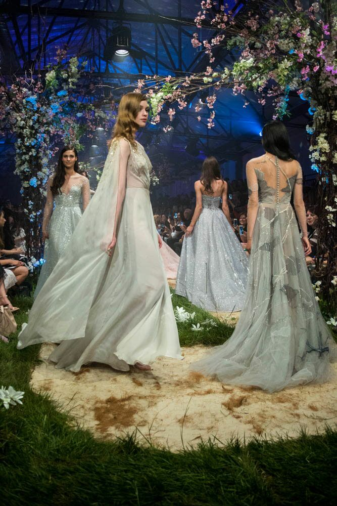 Paolo Sebastian Disney gowns runway show