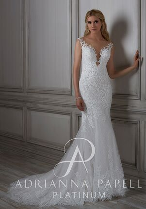 Adrianna Papell Platinum Lara Mermaid Wedding Dress