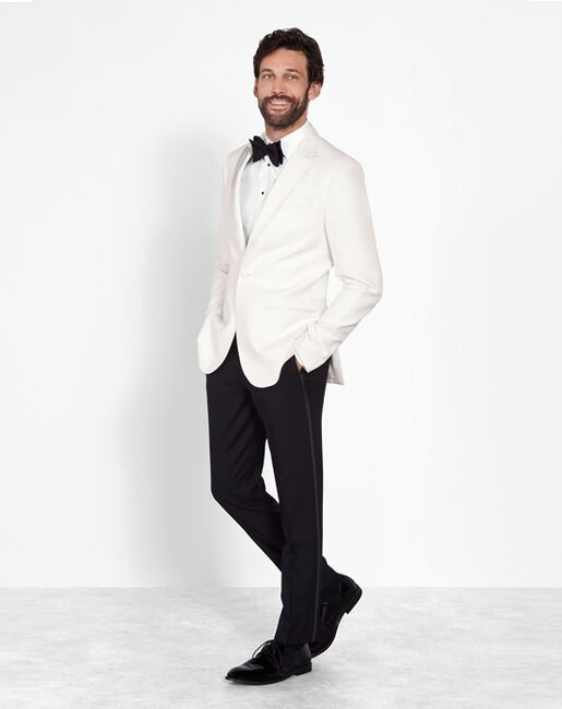 The Black Tux The Clemens Outfit Ivory Tuxedo