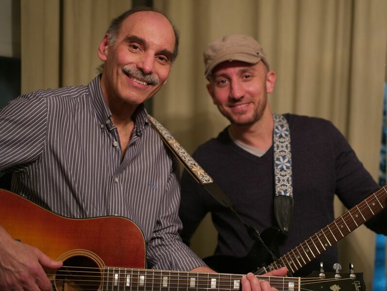 Even Trade: Dan and Luca Peppe - Acoustic Duo - New Rochelle, NY